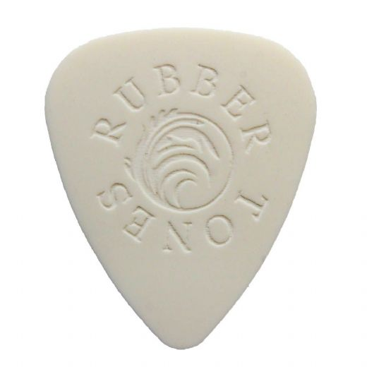 Rubber Tones White Silicon 1 Pick